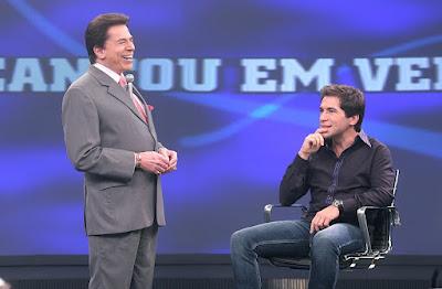 Silvio e Daniel (Roberto Nemanis/SBT)