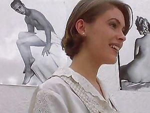 Alyssa milano facial