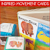 Brown Bear, Brown Bear Inspired Movement Activity Cards Freebie