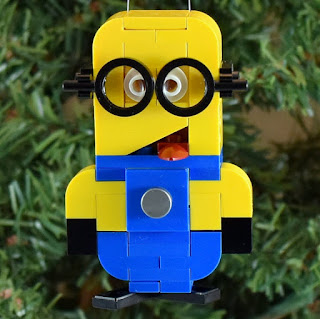 minion lego christmas ornament from Ornaments 4 charity