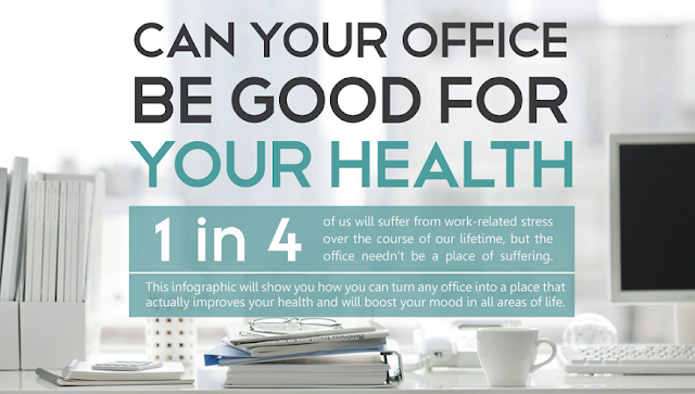 Can Your Office Be Good For Health #infographic