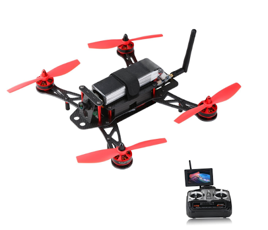 AKASO F250A FPV RC Racing Drones QAV 250 CC3D Flight Controlle,HD Camera,Remote Control,AV Transmitter,4.3 inch LCD Display Review