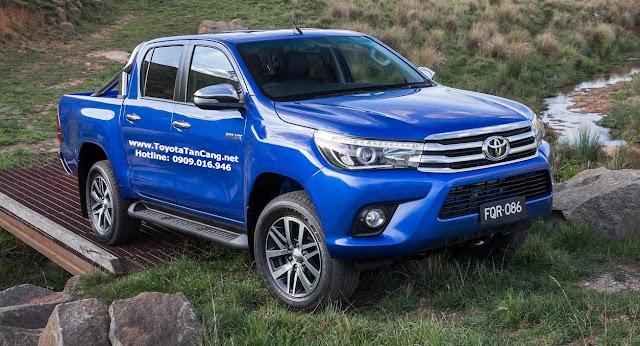 Giá xe Toyota Hilux 2016 - Đánh giá chi tiết Toyota Hilux 2016 tại Việt Nam