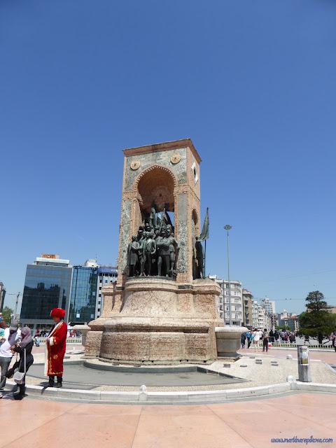 Námestie Taksim, Istanbul, Turecko