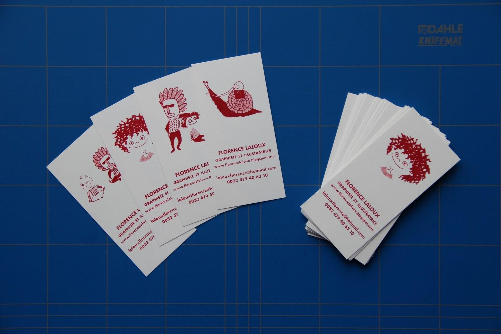 Mes Nouvelles Cartes De Visite Materialisees Dans Le Fin Fond Des Caves St Luc Un Lieu Magique Appele Atelier Serigraphie