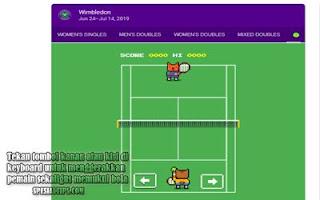 Cara Main Game Tenis Google 'Wimbledon' Di Komputer
