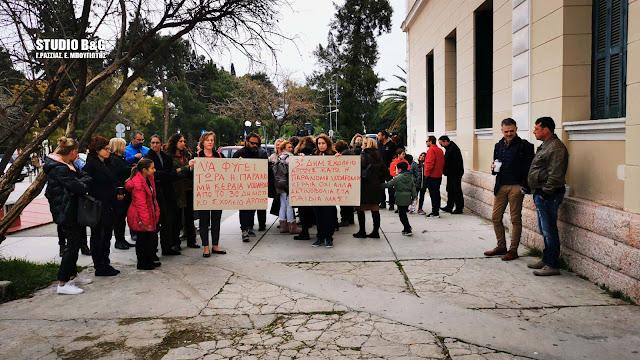 Στον εισαγγελέα Ναυπλίου οι γονείς του 3ου Δημοτικού Άργους για την κεραία (βίντεο)