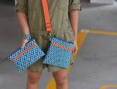 Double Zipper Pouch/Bag