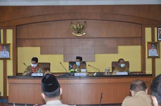 Bupati Batanghari Hadiri Rapat Koordinasi Monitoring KPK