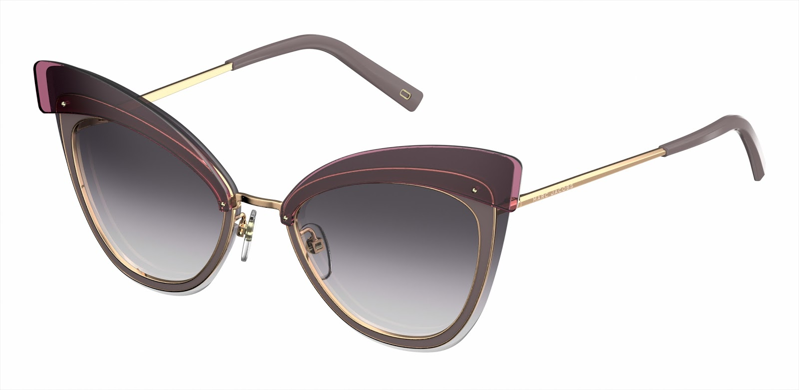 ... shaped metal sunglasses. the two models represent the highest levels of  craftsmanship. the panthos shaped marc 101 s and the cat-eye shaped marc  100 s ... 47735ccf87