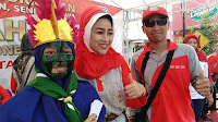 SMK Mutu Bumi Meriahkan Karnaval HUT RI ke-74 Tingkat Kecamatan Bumiayu