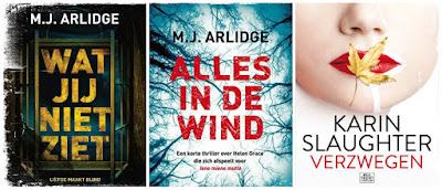 Thrillers in juni gelezen van M.J. Arlidge en Karin Slaughter