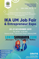 IKA UM Malang Job Fair and Entrepreneur Expo November 2019