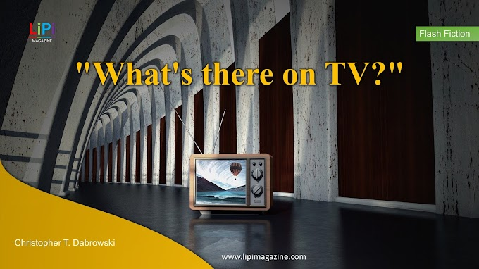 What's there on TV? by Christopher T. Dabrowski