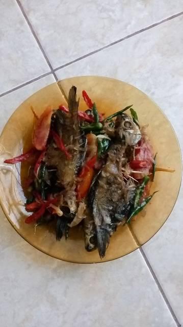 Resep ikan asin asoy geboy ala rumah makan ciwidey