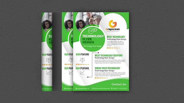 How To Make Business Flyer Graphic Design | Adobe Photoshop Tutorial