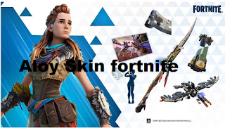 "A new collaboration with Fornite, featuring the character ""Aloy"" from the video game Horizon Zero Dawn"