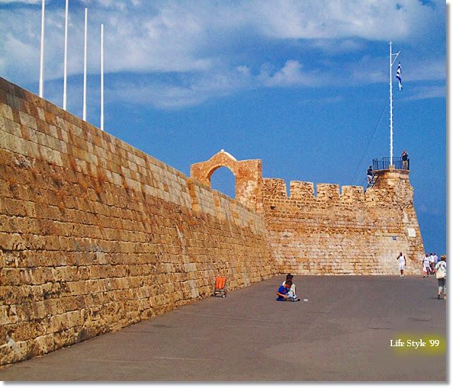 Chania la Fortezza nel Porto Veneziano