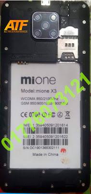 MIONE X3 FLASH FILE