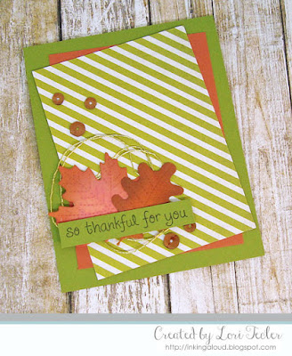 So Thankful card-designed by Lori Tecler/Inking Aloud-stamps and dies from Lawn Fawn