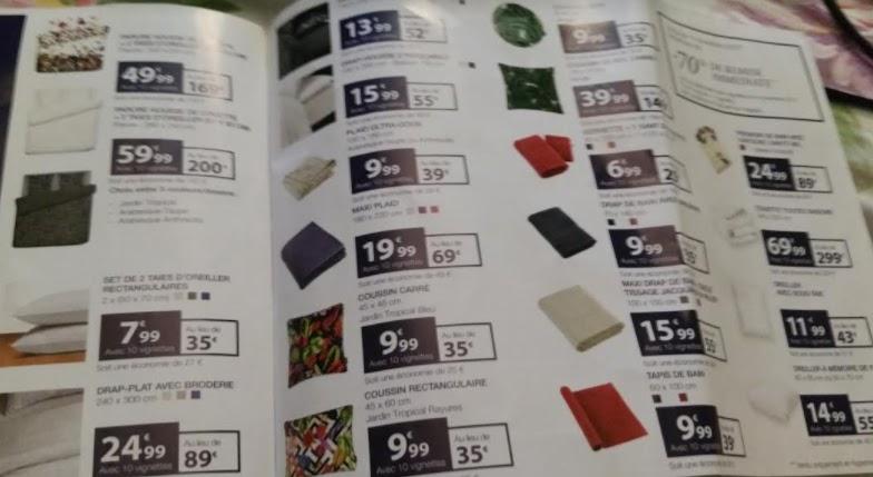 bon plan catalogue vignette christian lacroix carrefour 2017 septembre. Black Bedroom Furniture Sets. Home Design Ideas