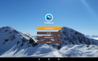 Peaklens: l'app per conoscere i nomi delle montagne