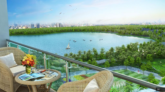 BRG Grand Plaza với view Hồ Thành Công