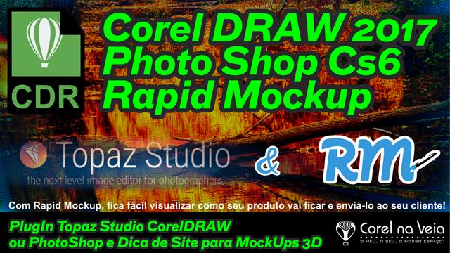 Topaz e CorelDRAW 2017
