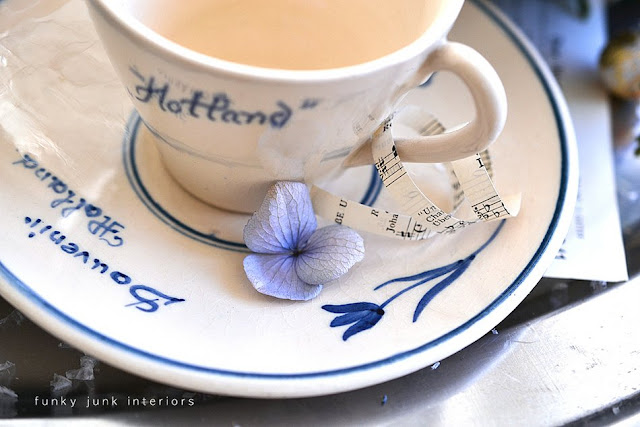 vintage tea cup from Holland