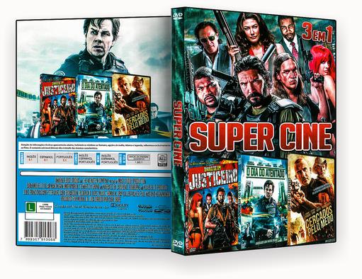 CAPA DVD – Super Cine 3 Em 1 Vol.1 – ISO