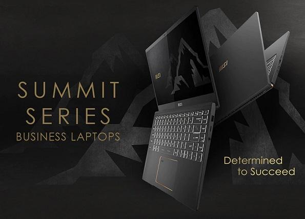 MSI Summit Series Laptops