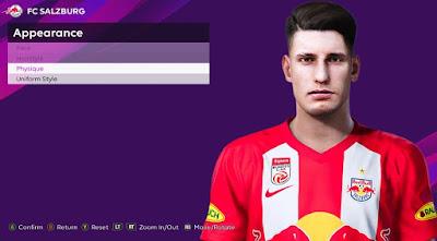 PES 2020 Faces Dominik Szoboszlai by Rachmad ABs