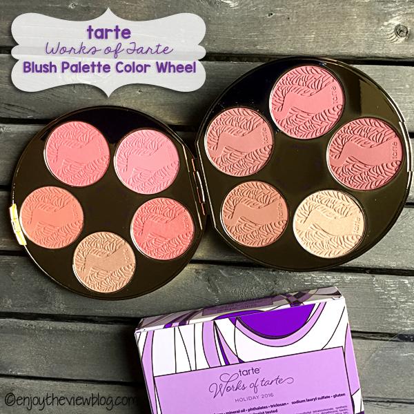 Works of Tarte Blush Palette Color Wheel