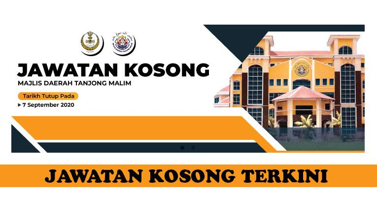 Kekosongan Terkini di Majlis Daerah Tanjong Malim