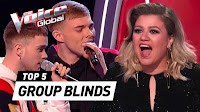 INCREDIBLE GROUP Blind Auditions in The Voice