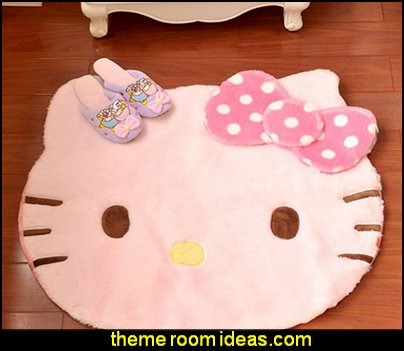 Hello Kitty Chidren Room Non-slip Area Rugs Soft Floor Living Room Rug and Carpets