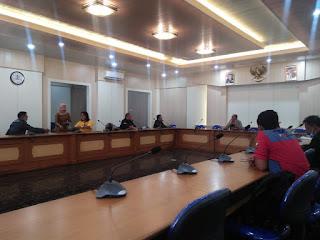 PSN Sambangi Gedung DPRD Kabupaten Sukabumi Sampaikan Aspirasi Insan Pers