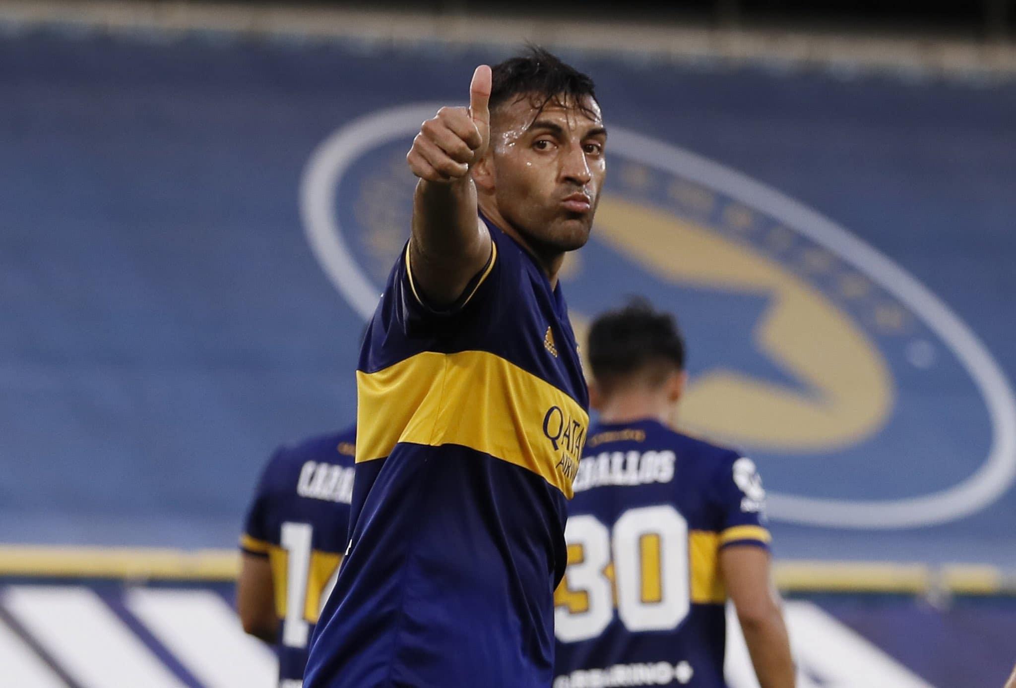 Con doblete de Wanchope Ábila, Boca derrotó a Huracán por 3 a 0 en La Bombonera