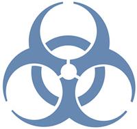 Resultado de imagem para infecção simbolo