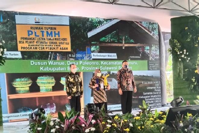 Hebat! Desa Poleonro Raih Penghargaan Proklim Lestari 2020