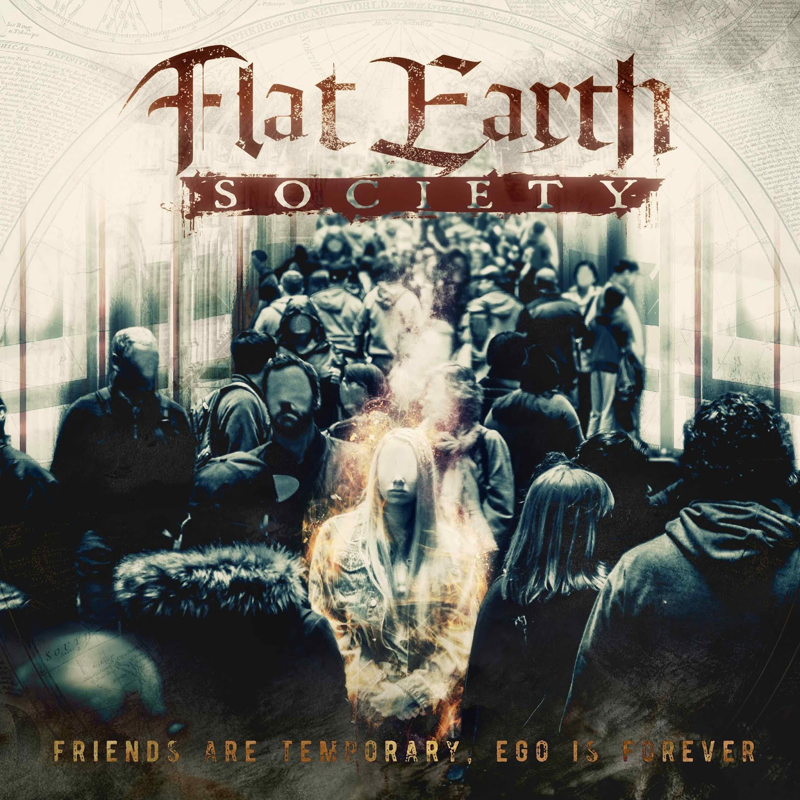 Flat Earth Society 'Friends are temporary, Ego is forever' album