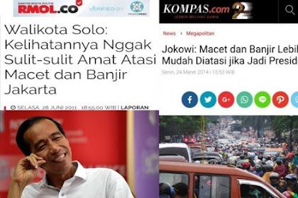 Pemindahan Ibu Kota Bukti Jokowi Gagal Benahi Jakarta
