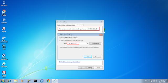 Cara Setting NTP di Ubuntu Server 20.04