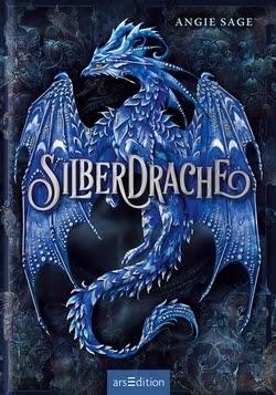 Bücherblog. Buchcover. Silberdrache (Band 1) von Angie Sage. Kinderbuch, Fantasy.