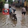 Pantau Wilayah, Personil Polsek Marbo Imbau Masyarakat Waspada Bencana Banjir