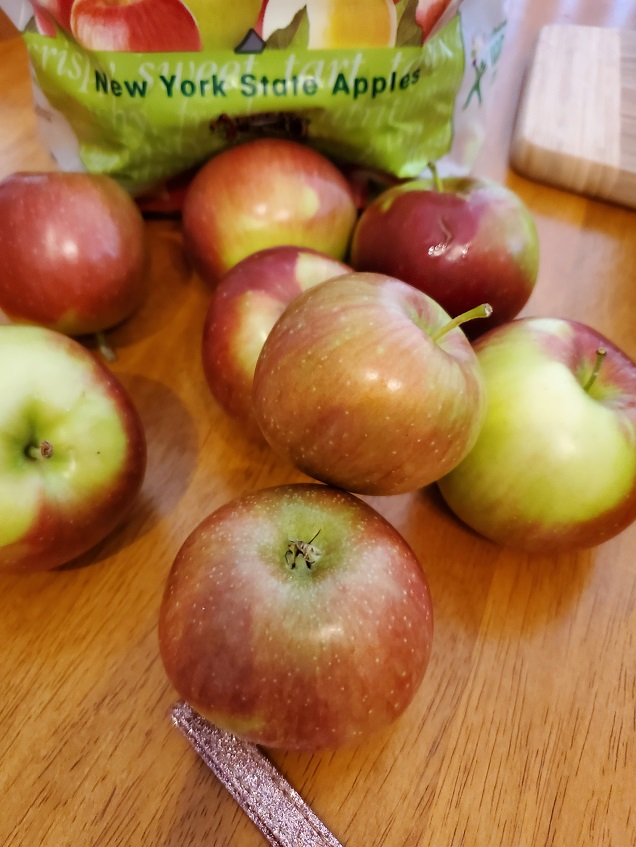 mcintosh apples to use to make a scratch apple cake