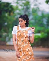 Priyamani in Brown Color Dress