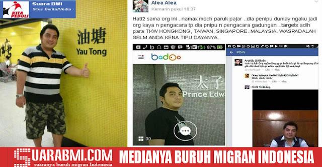 Menipu Hingga 796 Juta, Pengacara Gadungan Ini Hebohkan BMI Hong Kong dan Taiwan