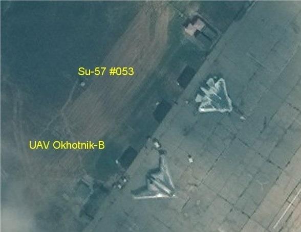 UAV SU-57  DRONE S70 Okhotnik