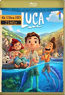Luca (2021)[4K 2160p UHD] [Latino-Inglés] [Google Drive] chapelHD